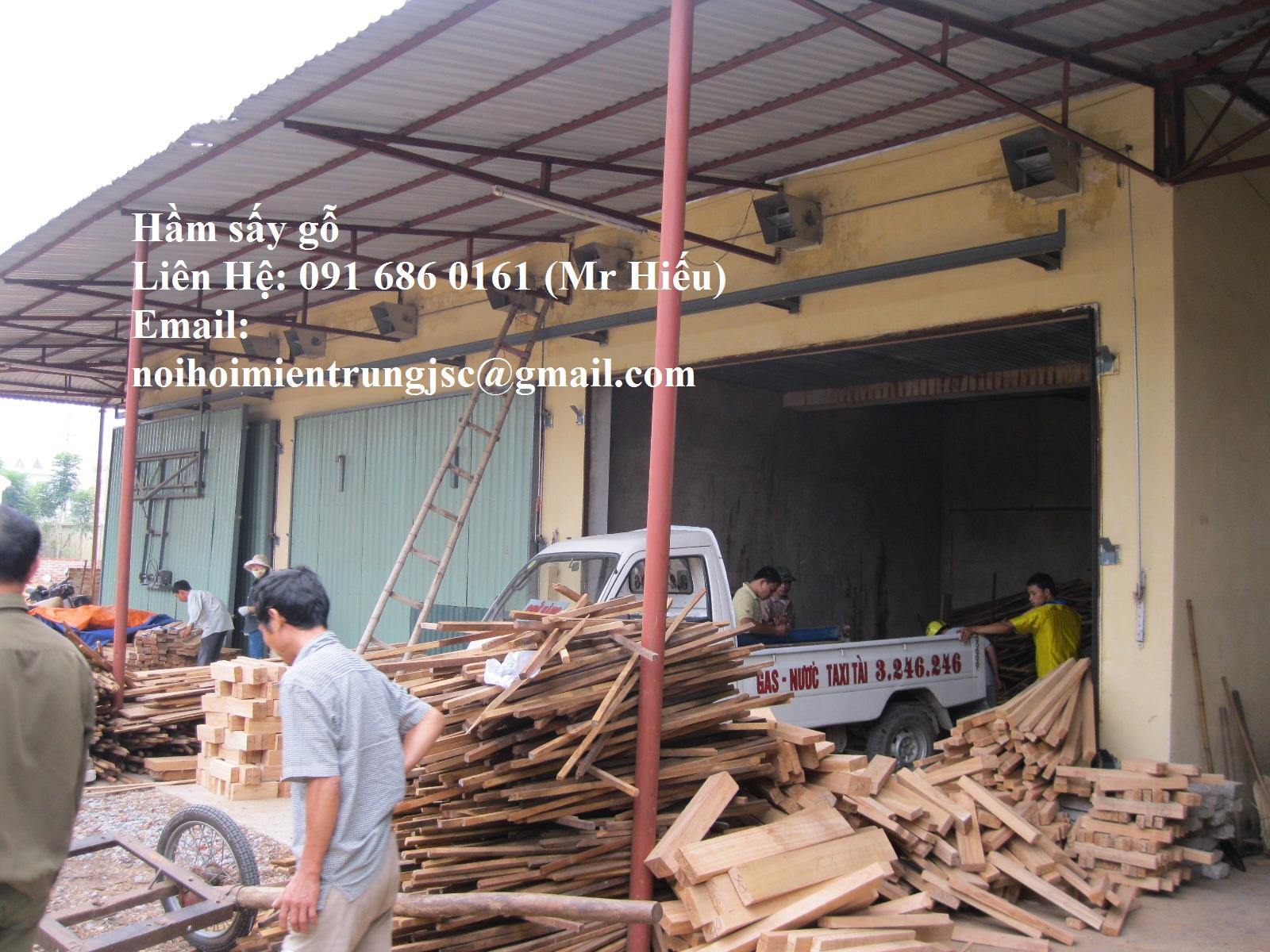 Công nghệ sấy gỗ - Lò hơi sấy gỗ