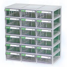 Tủ đựng linh kiện 18 ngăn Hàn Quốc CA 507-6