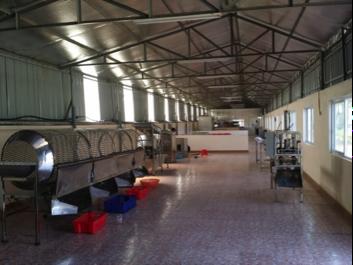 Công nghệ và hệ thống thiết bị sản xuất mứt khô, ô mai năng suất 5 tấn nguyên liệu/ ngày
