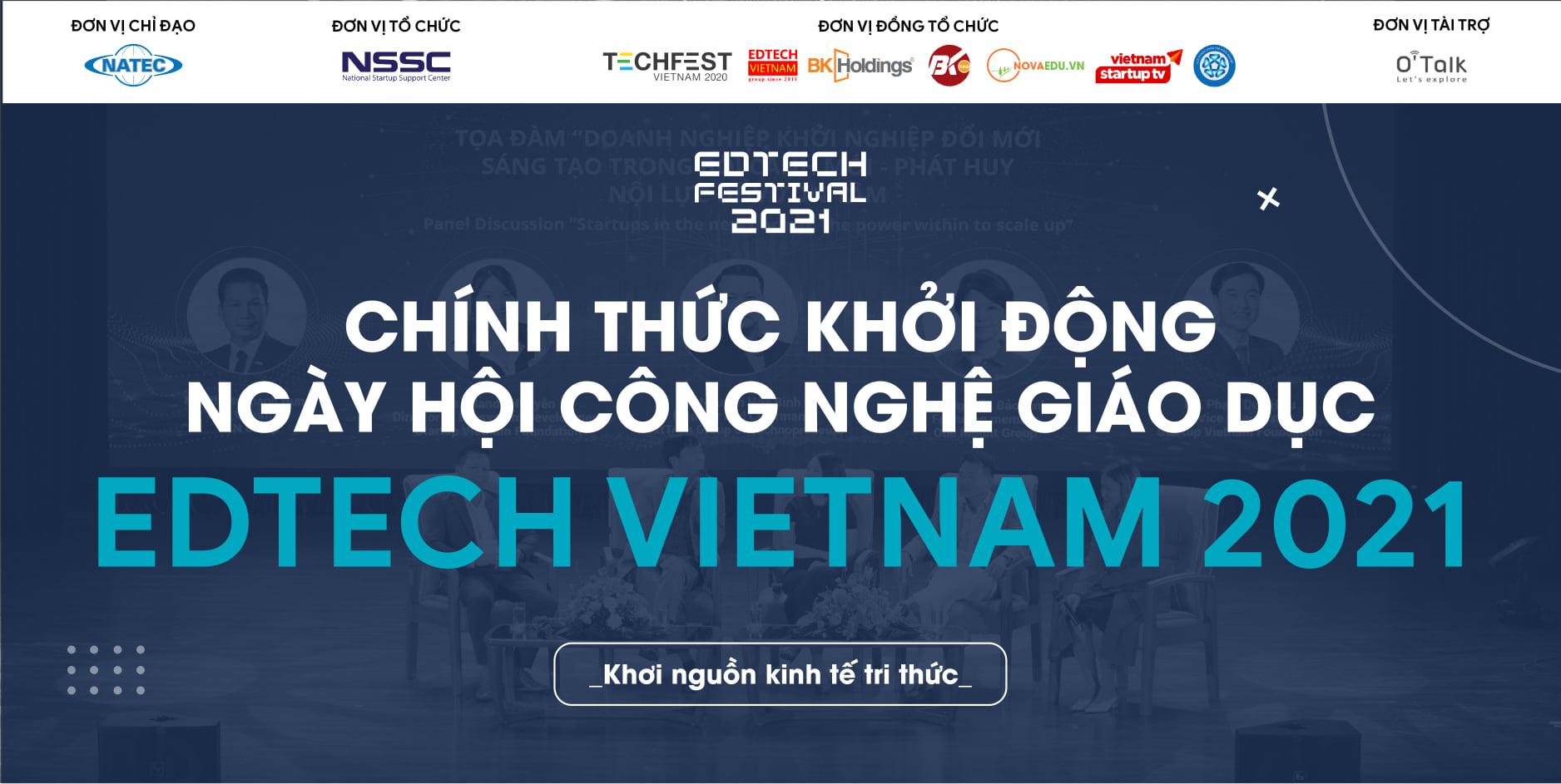 Cuộc thi tìm kiếm ngôi sao khởi nghiệp - Edtech Vietnam 2021