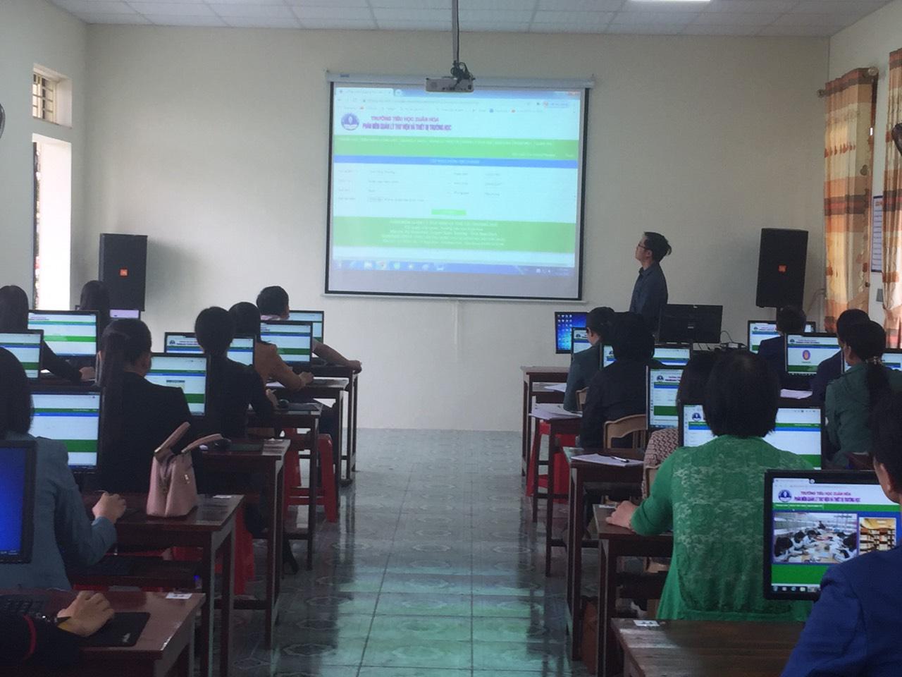 Đào tạo chuyển giao phần mềm Quản lý Thư viện và Thiết bị trường học
