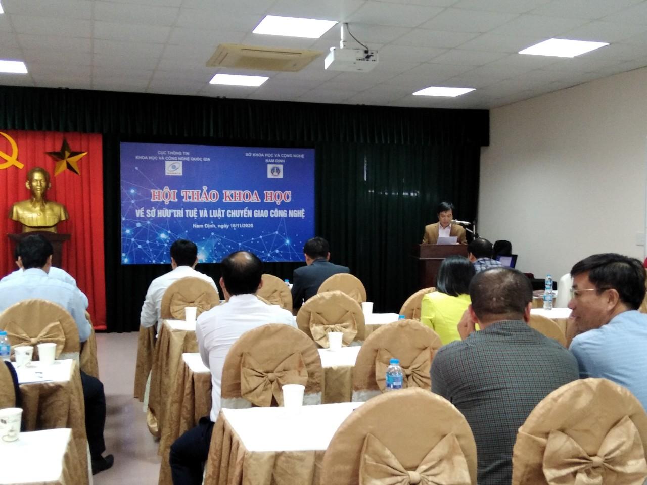 Hội thảo khoa học về sở hữu trí tuệ và luật chuyển giao công nghệ