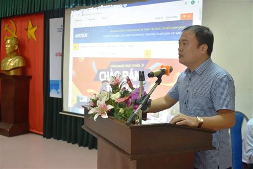 Kết nối cung cầu công nghệ, thiết bị cơ hội cho doanh nghiệp Nam Định