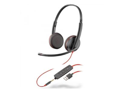 Tai nghe Plantronics Blackwire C3225 USB-C