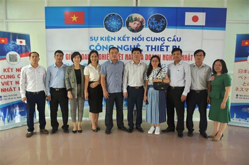 Sự kiện Kết nối cung – cầu công nghệ, thiết bị giữa doanh nghiệp Việt Nam và doanh nghiệp Nhật Bản