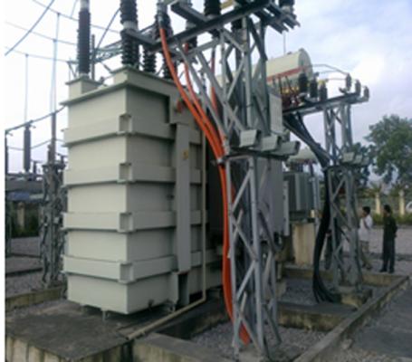 Xây dựng, lắp đặt trạm biến áp 110kVA/22kV – 2x63 MVA