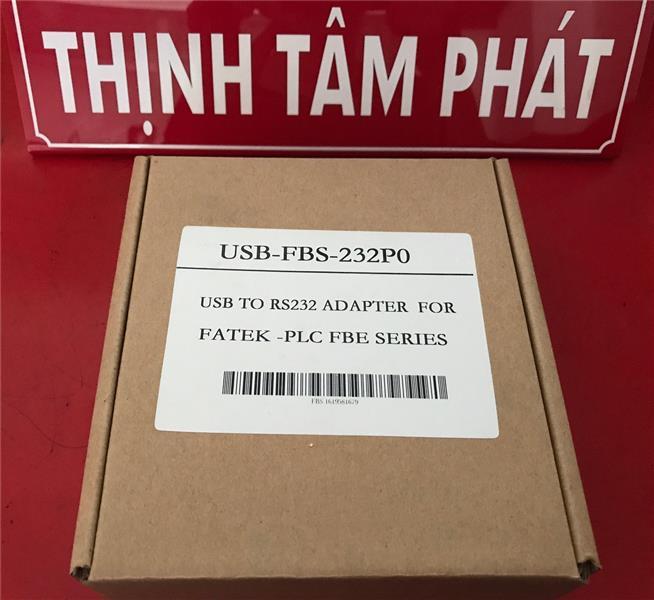 Cáp USB-FB-232P0 - Cáp lập trình PLC FATEK USB-FB-232P0