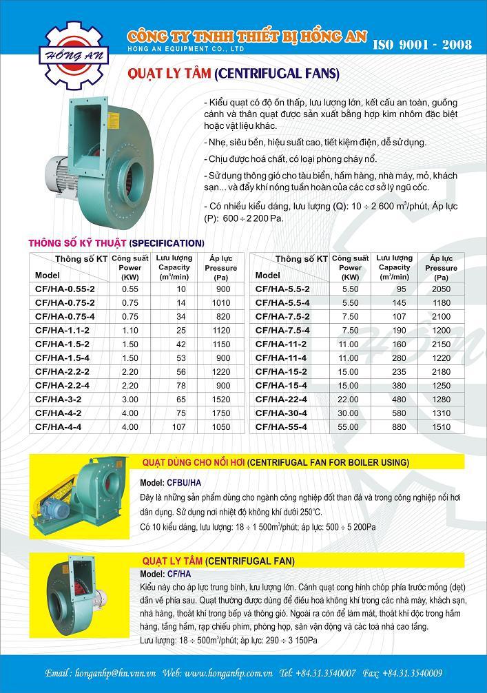 Quạt thông gió hướng trục công nghiệp đăng kiểm Việt Nam