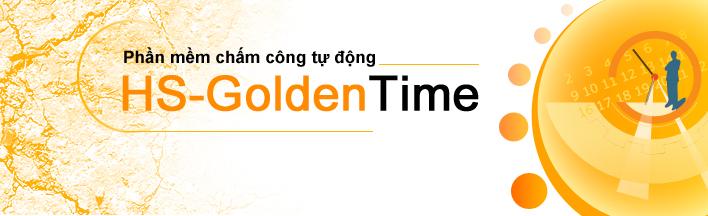 Phần mềm chấm công tự động HS-GoldenTime