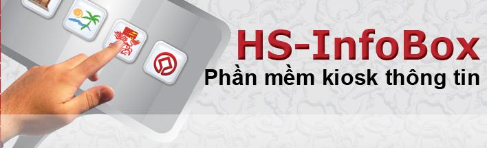 Phần mềm kiosk thông tin HS-InfoBox